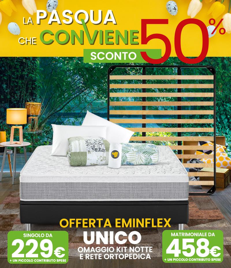Eminflex Offerta Com Nuovo Materasso Sano Con Sconto Lancio Del 50